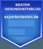 Experten testen - Auszeichnung Gesundheitsblog www.happy-future-psy-care.at