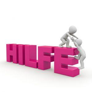 Hilfe - Lösung - Ursache - Wirkung - zum Nachdenken - HAPPY-FUTURE-BLOG-NEWS